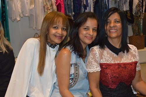 Catarina e Marilene, ela com a filha