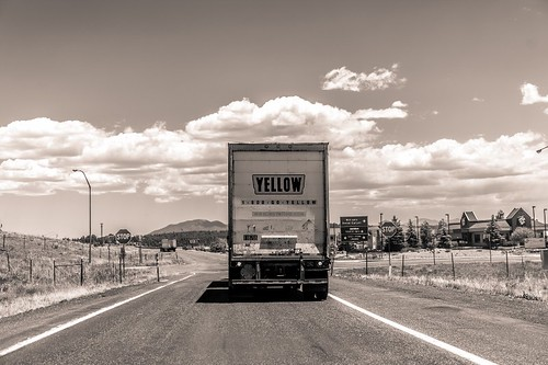 Camion - road trip USA
