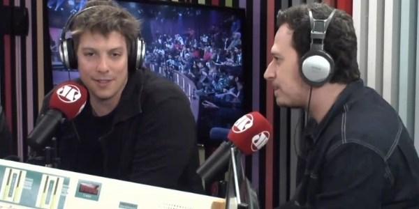 Porchat admite surpresa com clima amistoso entre apresentadores da Record