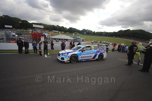 James Cole during the BTCC Brands Hatch Finale Weekend October 2016