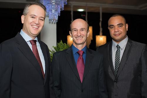 Humberto Marim, Jomário Castro e Márcio Siqueira