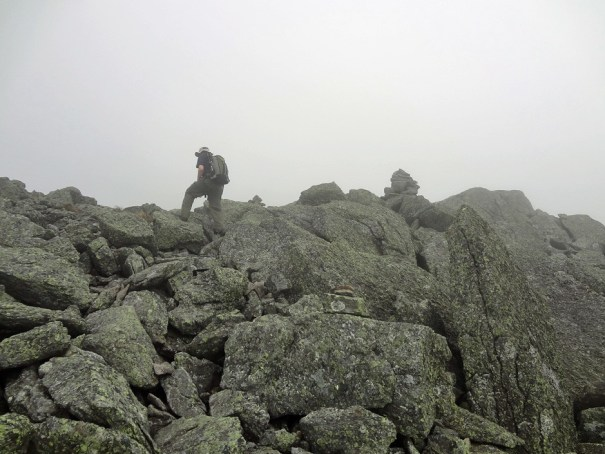 Mt. Jefferson Castle Trail Rock Scramble