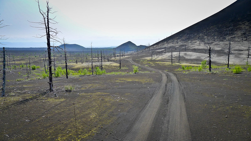 Erupciones Volcán Tolbachik
