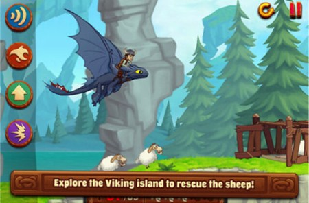 HTTYD rescue sheep