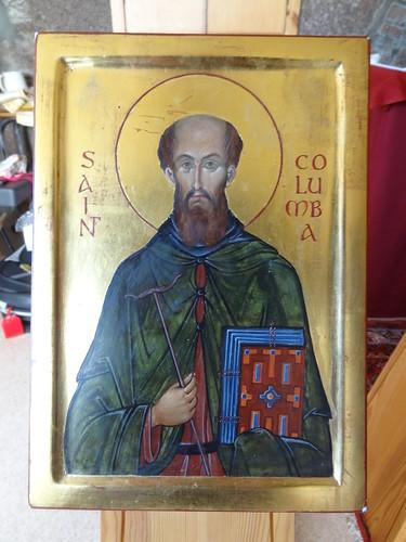 St Columba icon