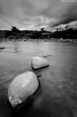 Monochrome and stones