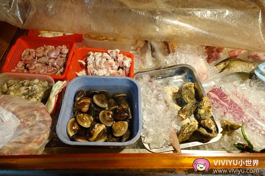 [台南.美食]蛤蚧燒貨舖.海安路上吃碳烤.吃的到食材新鮮原味&二哥炒鱔魚意麵 @VIVIYU小世界