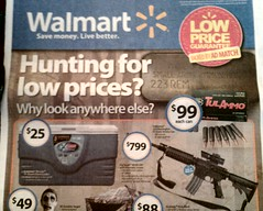 Walmart gun control
