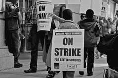 Chicago teachers Union strike 2012
