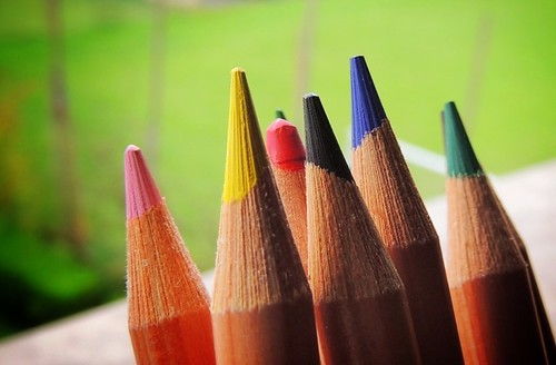 True colors.... (rospex) italy macro colori matite