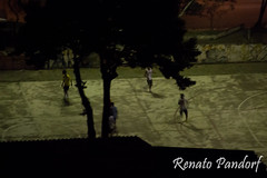 Nocturnal soccer match