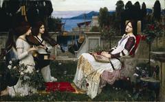 John Waterhouse 'Saint Cecilia' 1895