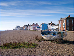 Early Morning on Aldeburgh Beach