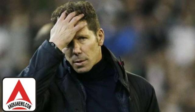 #Bola: Gagal Menang di 2 Laga, Atletico Terancam Krisis