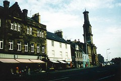 """Irvine High Street looking south-east from the Cross circa 1970 • <a style=""""font-size:0.8em;"""" href=""""http://www.flickr.com/photos/36664261@N05/8005384825/"""" target=""""_blank"""">View on Flickr</a>"""