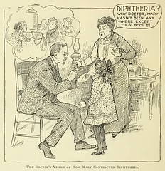 Diptheria? Why doctor, Mary hasn't been anywhe...