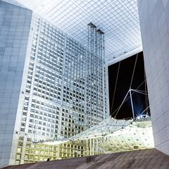 La Défense (Paris) - Night Shots - La Grande Arche