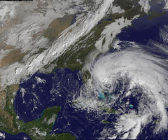 "NASA Sees Hurricane Sandy as the ""Bride o..."