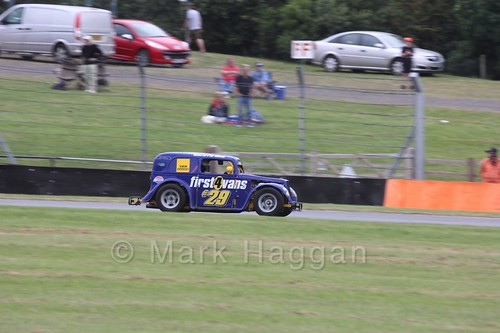 Legends Racing at Donington Park during the BTRA weekend