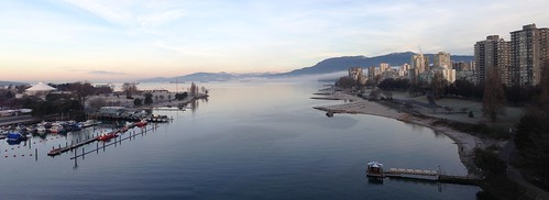 Vancouver Winter Morning Pano