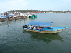 Boat to Perhentian, Kuala Besut Jetty