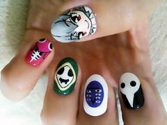 "Anime Fingernails 5 • <a style=""font-size:0.8em;"" href=""http://www.flickr.com/photos/66379360@N02/8440916772/"" target=""_blank"">View on Flickr</a>"