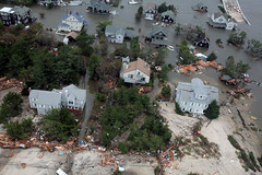 Aerial photos of New Jersey coastline in the a...