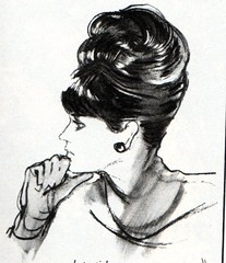 The 1960s-1964 Marie-Claire -hair styling