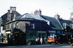"Irvine Saddler's Corner, junction of High Street and Bridgegate (north west corner), circa 1970 • <a style=""font-size:0.8em;"" href=""http://www.flickr.com/photos/36664261@N05/8137686530/"" target=""_blank"">View on Flickr</a>"