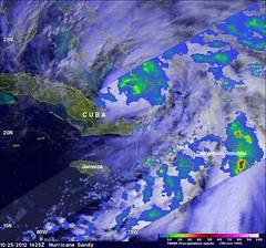 """NASA Sees Hurricane Sandy as the """"Bride o..."""