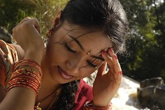 South actress MADHUCHANDAPhotos Set-3-HOT IN TRADITIONAL DRESS (1)