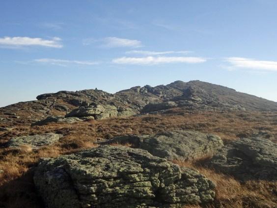 Mt. Lafayette North Peak on the New Hampshire Appalachian Trail
