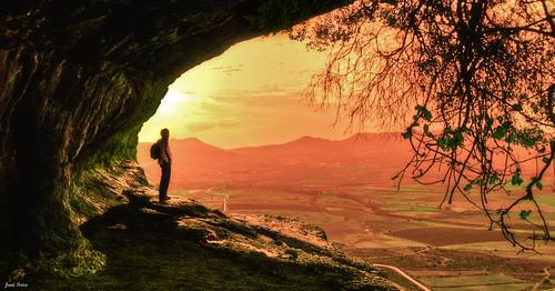 My Last Sunset ... (Legi.) sunset atardecer nikon san campo 1855mm 1855 cuevas moratalla bajil jun zan d5100 fotoencuentrosdelsureste