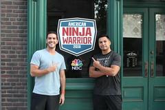 Covino & Rich attend the American Ninja Warrior finale screening