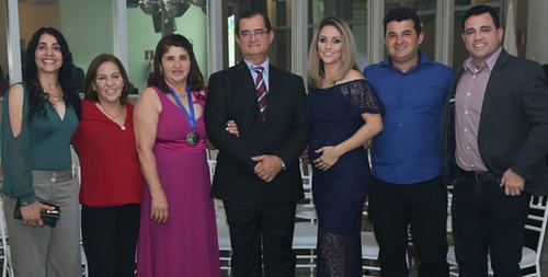 Célia Dias Freitas e familiares