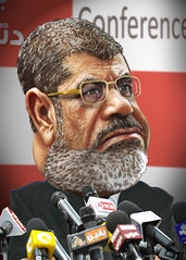Mohamed Morsi - Caricature