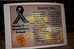 Poster - Remembering the Victims of Sandy Hook...