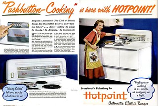 HOTPOINT AUTOMATIC ELECTRIC RANGES 1948