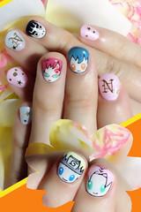 "Anime Fingernails 10 • <a style=""font-size:0.8em;"" href=""http://www.flickr.com/photos/66379360@N02/8440916680/"" target=""_blank"">View on Flickr</a>"
