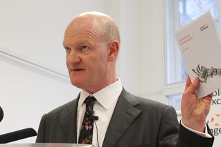 David Willetts introducing his pamphlet 'Eight...