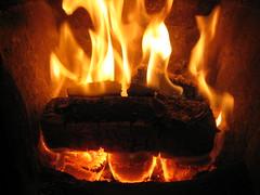 Burning Coal public domain photo