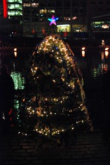 The Providence Marriott Downtown Christmas Tree.