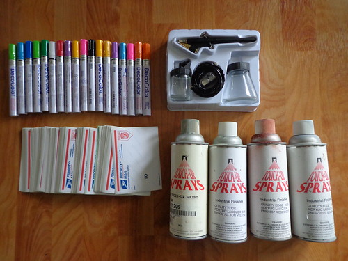 airbrush painting supplies