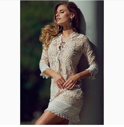 Lindo este vestido em renda, Regina Salomão, by ANZU!!