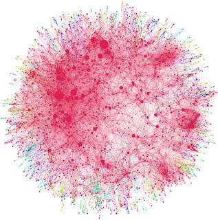 Co-authorship network map of physicians publis...