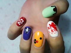 "Anime Fingernails 4 • <a style=""font-size:0.8em;"" href=""http://www.flickr.com/photos/66379360@N02/8439827637/"" target=""_blank"">View on Flickr</a>"