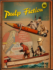 Pulp Fiction No.9 by Atomic Mutant Flea Circus, on Flickr