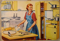 Vintage or Retro Kitchen