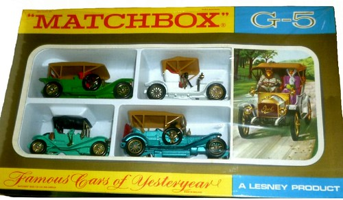 Matchbox Yesteruear Gift set
