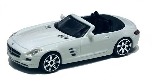Burago Mercedes SLS roadser